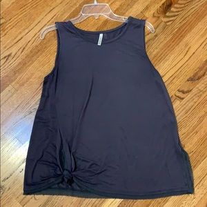 Women's Sleeveless top with side tie detail